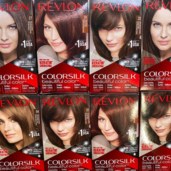 Nhuộm tóc REVLON Color Silk Hàng MỸ 130ml (10 20 27 30 31 32 33 40 41 42 46 47 54)