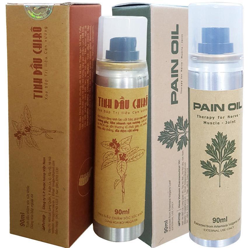 Combo tinh dầu giảm đau cơ xương khớp (1 PO90, 1 CO90) nhập khẩu