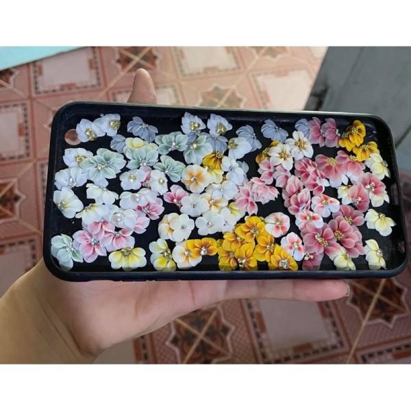 Combo 100 hoa bột siêu đẹp y hình giá rẻ