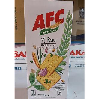 Bánh AFC Dinh Dưỡng 200g vị rau