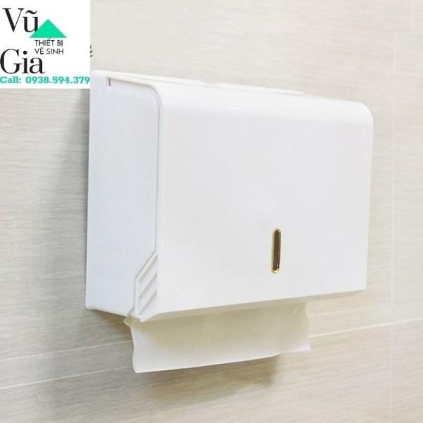 Hộp đựng giấy lau tay treo tường (hàng loại 1)