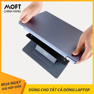 Đế Nâng Tản Nhiệt Laptop, Chân Đế Di Động Macbook Siêu Mỏng Moft Stand Universal - Dạng Tách Rời Sử Dụng Cho Tất Cả Máy Tính thumbnail