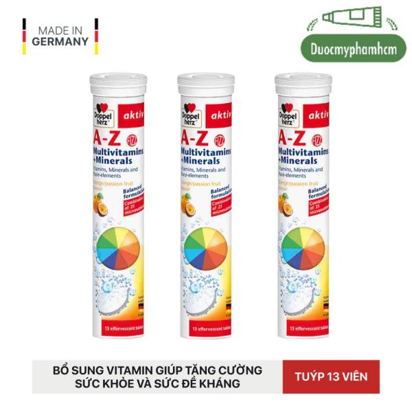 Doppel Herz A-Z Multivitamins + Mineral - Viên Sủi Bổ Sung Vitamin - Khoáng Chất Tổng Hợp