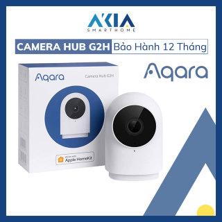 Camera Aqara Hub G2H phiên bản Quốc Tế, Camera Wifi Full HD 1080p, hỗ trợ Apple HomeKit, tích hợp Hub Zigbee - Đàm thoại 2 chiều, lưu trữ trực tiếp trên iCloud - Kết nối và Aqara Home thumbnail