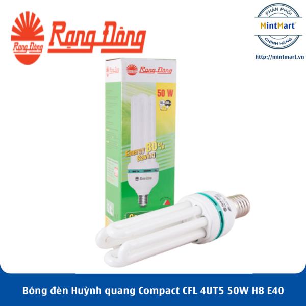 Bóng đèn Huỳnh quang Compact CFL 4UT5 50W H8 E40 Rạng Đông - Hàng Chính Hãng