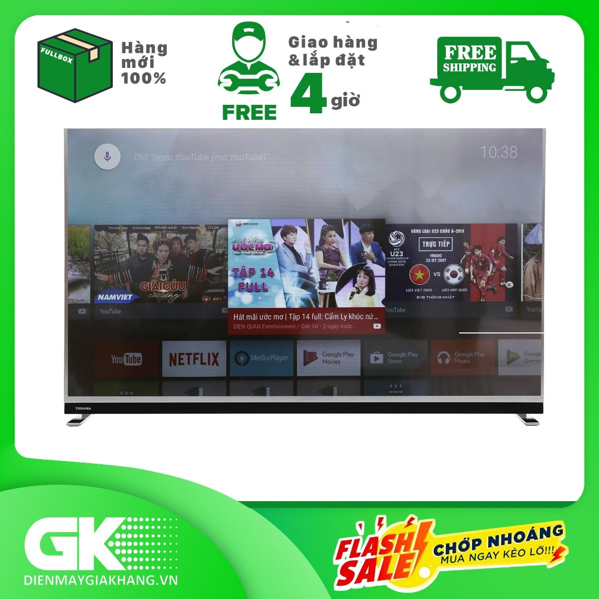 Bảng giá Smart Tivi Toshiba 65 inch 65U9750, 4K Android