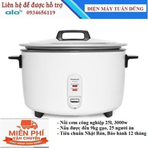 Bảng giá nồi công nghiệp panasonic 25l, 3000w noi cong nghiep nấu được đến 8kg gạo, cơm ngon và ủ nóng lâu, uy tín chất lượng, bảo hành 12 tháng Điện máy Pico