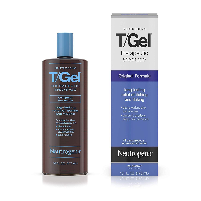 Dầu gội đặc trị cho bệnh về da đầu Therapeutic Neutrogena T-Gel 473ml Nhật Bản