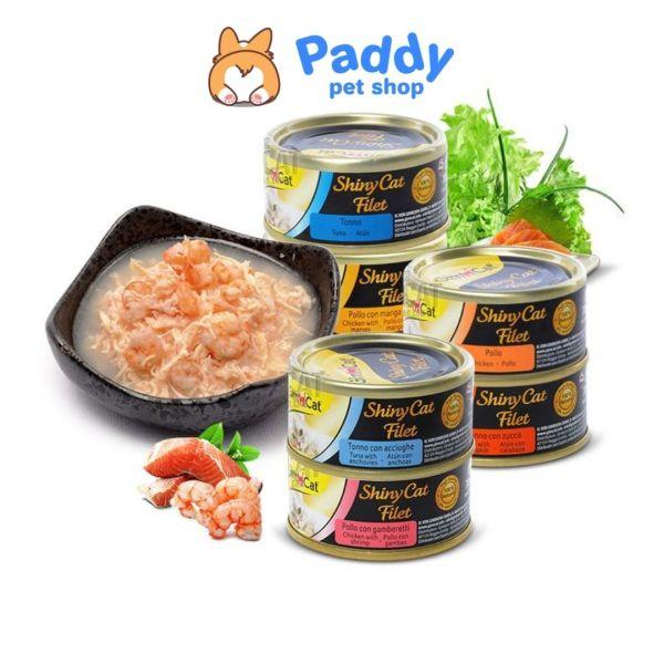 Pate lon GimCat Shiny Cat Filet cho mèo (70g)