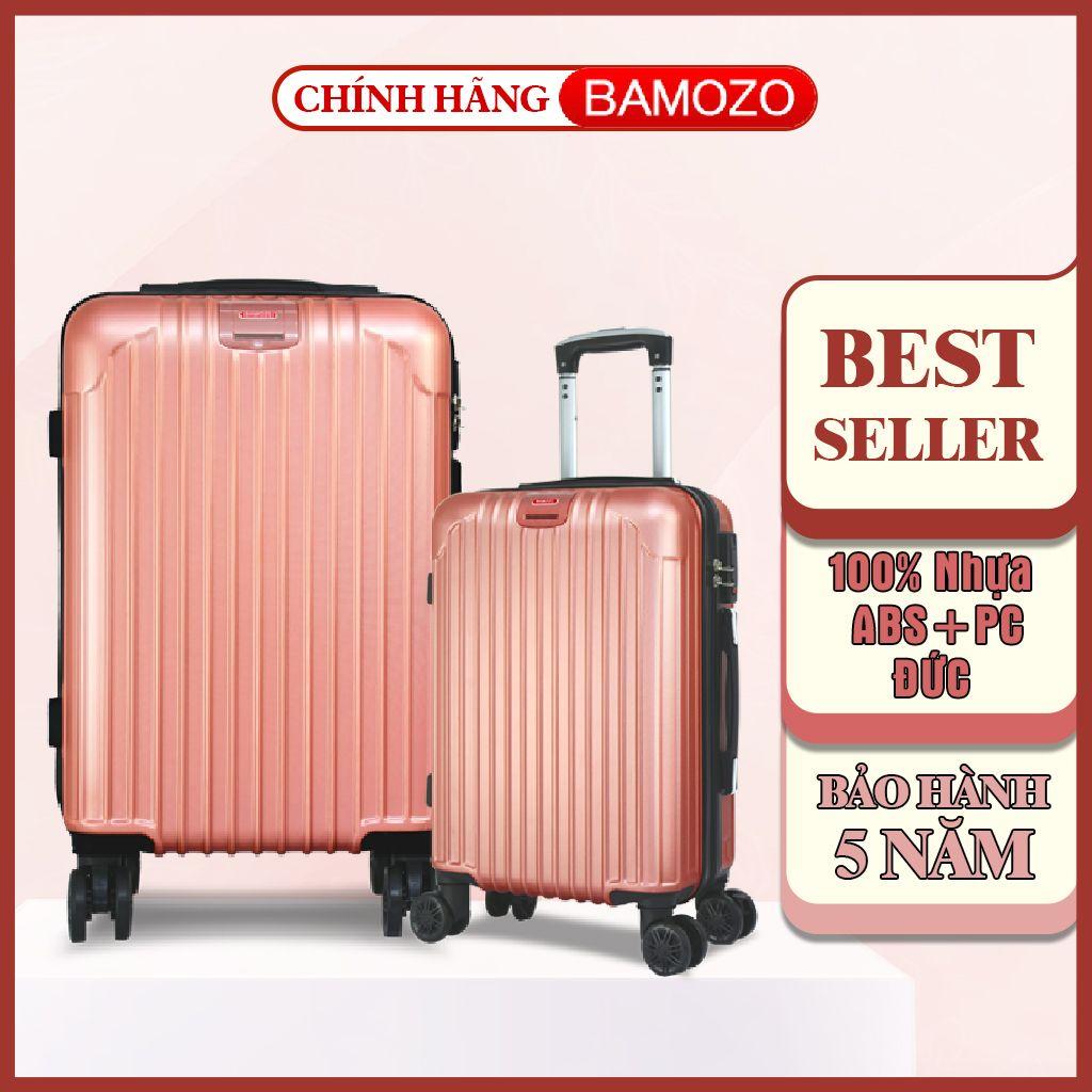 vali kéo du lịch, vali 24 inch bảo hành 5 năm Bamozo 8801