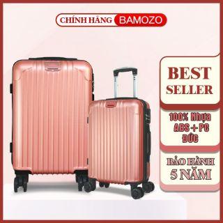 Vali du lịch BAMOZO 8801 8809 nhựa cao cấp - Bảo hành 5 năm thumbnail