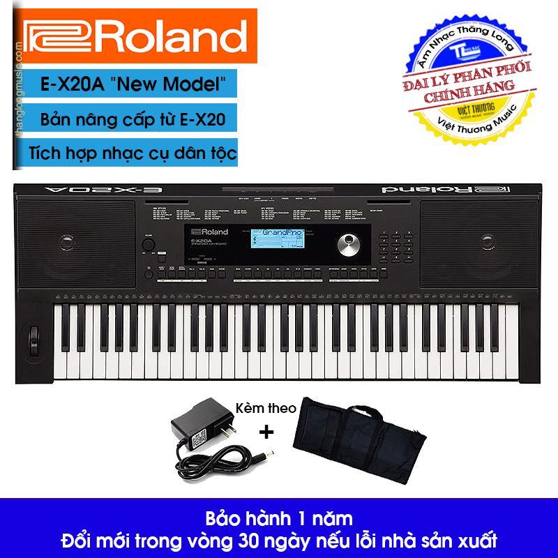 Đàn Organ (Keyboard) Roland EX20A (Tặng Bao + Giá nhạc) -   Arranger Keyboard E-X20A - Roland EX20 Portable Keyboard nhỏ gọn, khởi nguồn cho đam mê âm nhạc của bạn