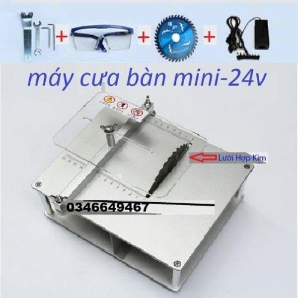 máy cưa bàn mini mini12-24v-180w