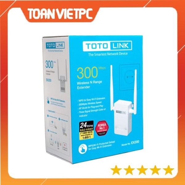 Bảng giá Thiết bị tăng cường sóng wifi Totolink EX200 TOANVIETPC Kích sóng totolink ex200 - EX200 Phong Vũ