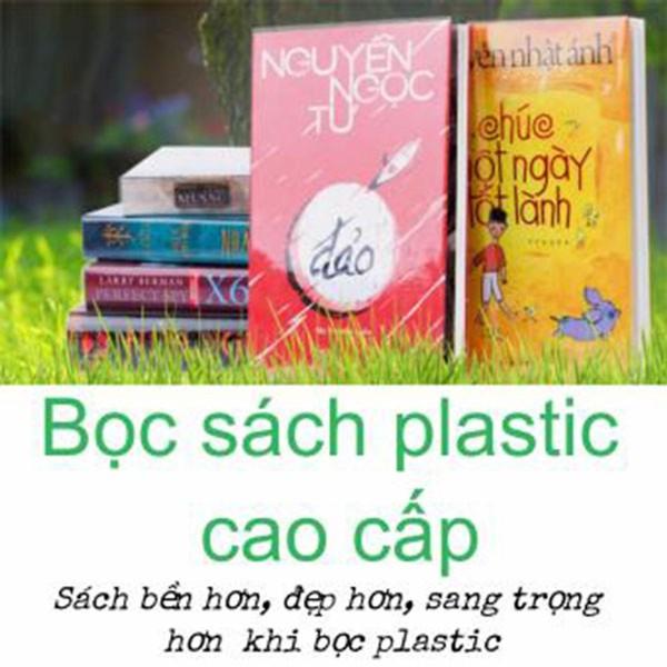 Mua Bộ 03 Bìa Bọc Sách plastic cao cấp cho sách, truyện(Nhiều kích thước tùy chọn