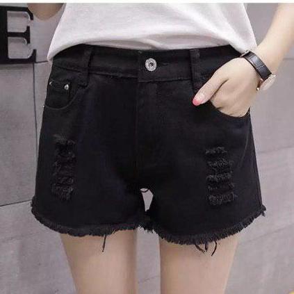 Quần Jean nữ Kaki co giãn ít dày dặn tôn dáng ( free size dưới 52 kg ) hai màu đen - trắng