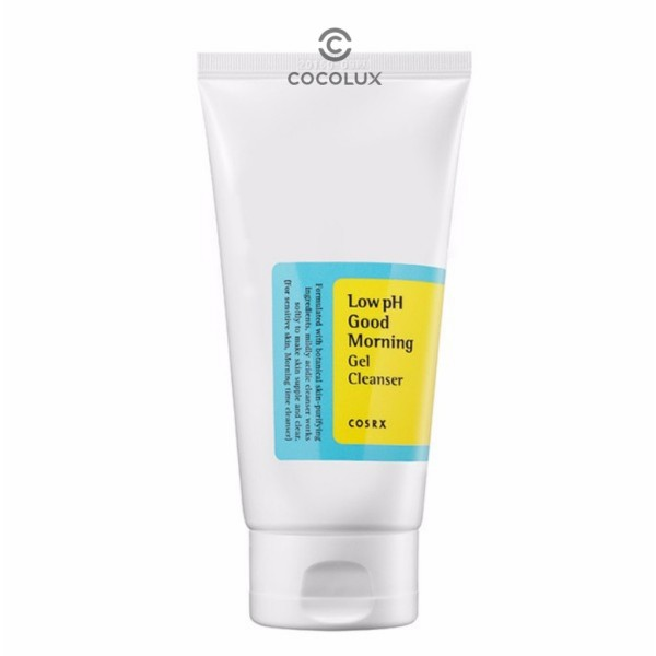 [CoCoLux] COSRX Low pH Good Morning Gel Cleanser 150ML giá rẻ