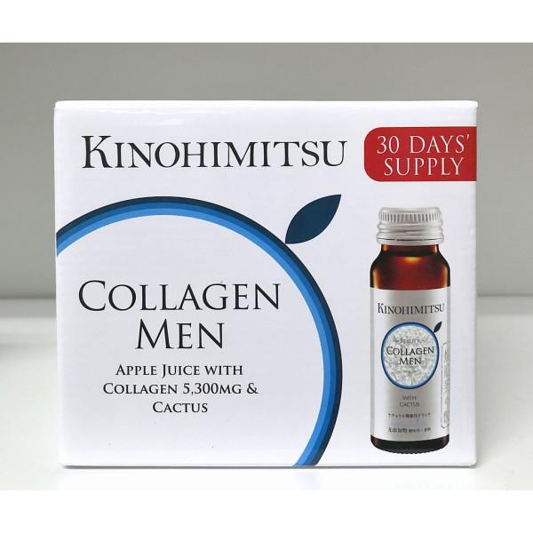 Nước Uống Kinohimitsu Đẹp Da JPan Colagen Men Drink 50ml x 16 chai