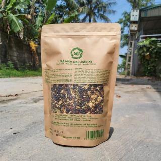 Trà giảm cân Mầm Ngũ Cốc và Hoa X5 - Thải độc, tan mỡ bụng, ngủ ngon, nhuận tràng - 500gram thumbnail