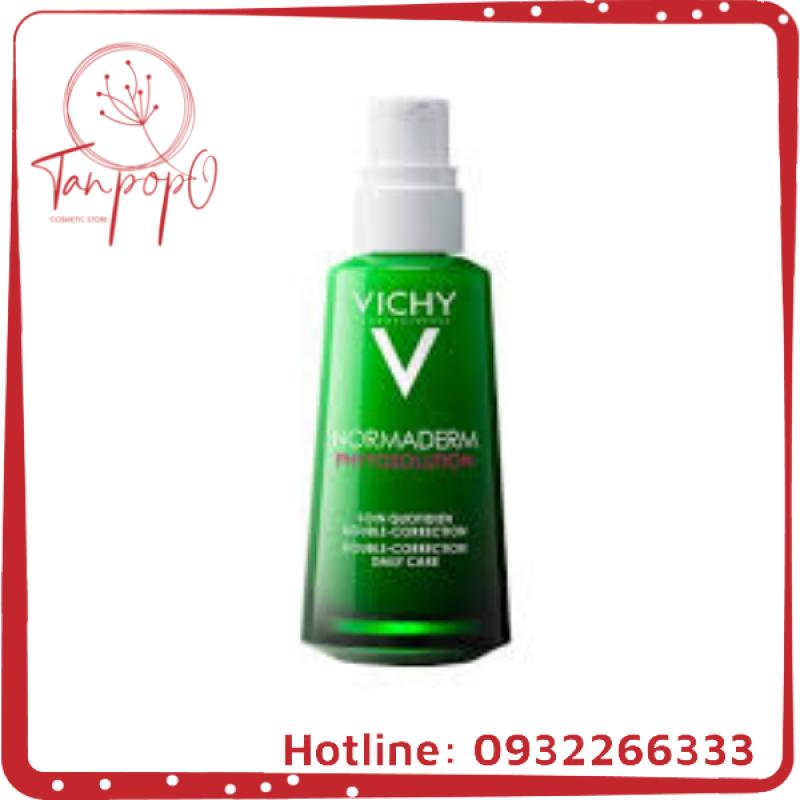 Kem dưỡng dạng gel sữa cho da mụn với tác động kép Vichy 50ml giá rẻ