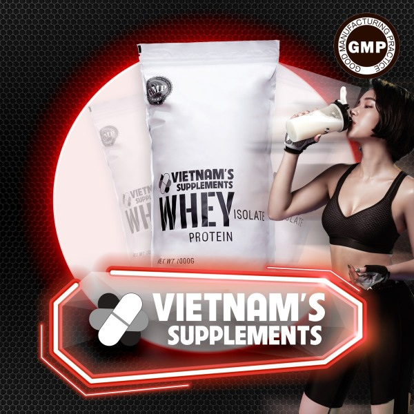 [THỰC PHẨM BẢO VỆ SỨC KHOẺ] Whey Protein Isolate - Bổ sung protein