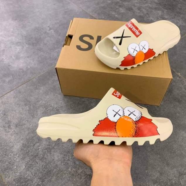 Dép lê nam nữ Das Yeezy Slide Kaw Supreme Siêu Phẩm 2020 Full Box(Có hộp Yeezy) giá rẻ