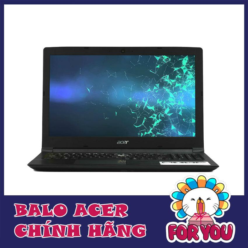 Laptop Acer AS A315-51-325E NX.GNPSV.037 (Đen) + Balo Acer - Hãng phân phối chính thức