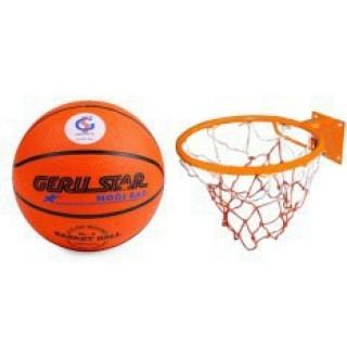 Combo bộ Vành bóng rổ 35cm + Bóng rổ gerustar số 3 thumbnail