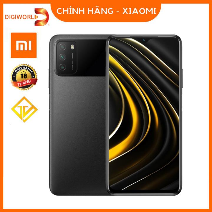 Điện Thoại Xiaomi Poco M3 (4GB/64GB) - Pin 6000mAh - Hàng chính hãng bảo hành 18 tháng