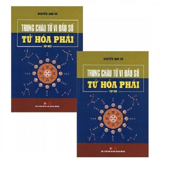 nguyetlinhbook - Trung Châu Tử Vi Đẩu Số - Tứ Hóa Phái (Bộ 2 Tập)