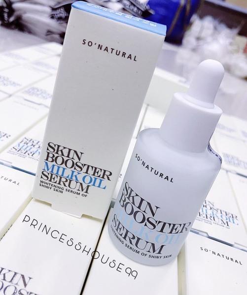 Tinh Chất Kích Trắng Da , Loại Bỏ Mụn, Thâm, Nám Skin Booster Milk Oil