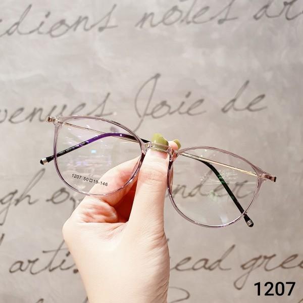 Mua Kính Cận Nam Nữ BB1207-Gọng Kính Mắt Tròn - Gọng Kính Cận Đẹp-Gọng Kính Cận Unisex-Gọng Kính Thời Trang-Lily Eyewear kèm quà