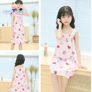 ĐẦM BÉ GÁI COTTON LỤA-HIHAHIHO-váy cho bé gái-Quần áo trẻ em-Đầm bé gái-Đồ bé gái-Đồ cho bé gái- Đồ bé gái- Quần áo trẻ em gái-Quần áo trẻ em gái- Đầm ngủ cho bé gái thumbnail
