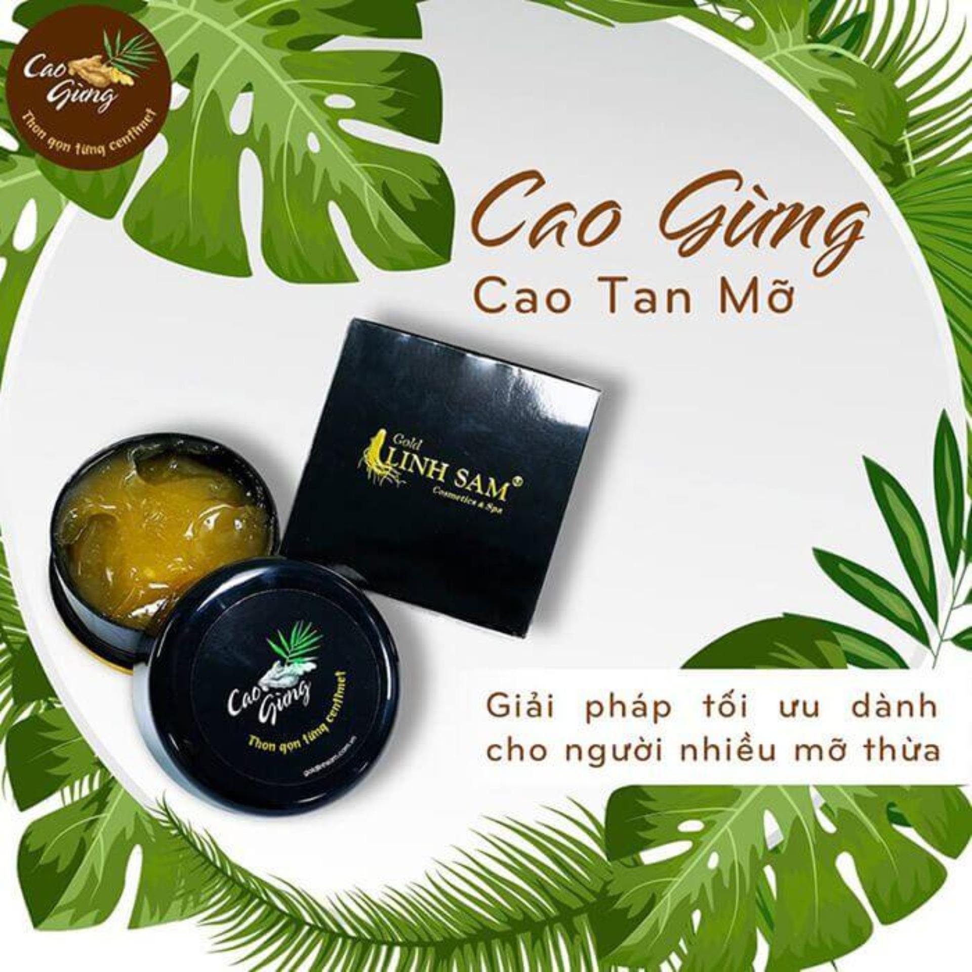 Kem Massage Tan Mỡ Thiên Nhiên - CAO GỪNG CÁT TƯỜNG 200g