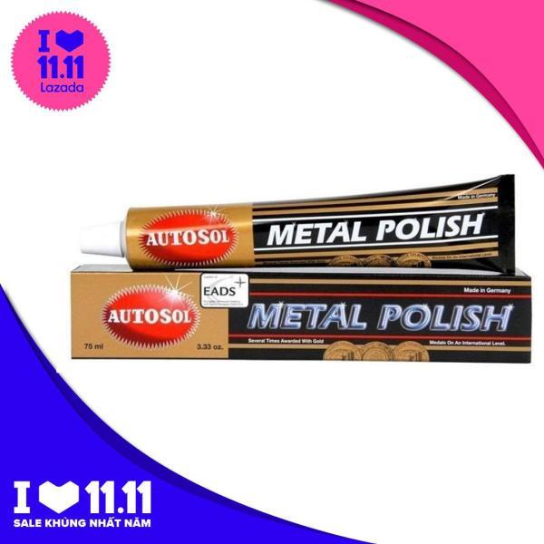 [ Deal Hot 9.9 ] Bộ 2 tuýp kem đánh bóng kim loại Autosol Metal Polish 75ml
