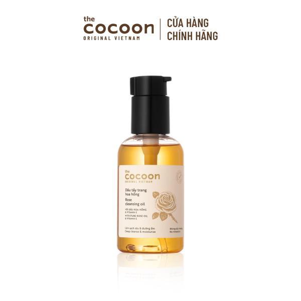 Dầu Tẩy Trang Hoa Hồng Cocoon 140ml cao cấp