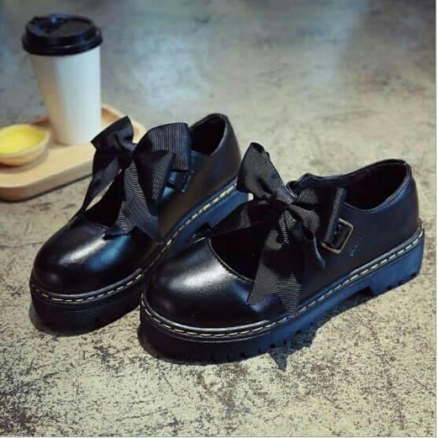Giày oxford phối nơ xinh xắn - hàng HOT TREND giá rẻ