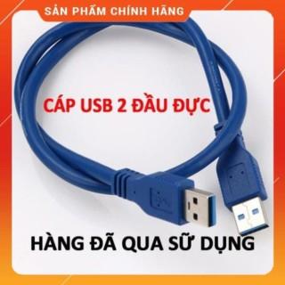 Combo 2 cáp USB 2 đầu đực dùng up rom hoặc thay cáp riser USB thumbnail