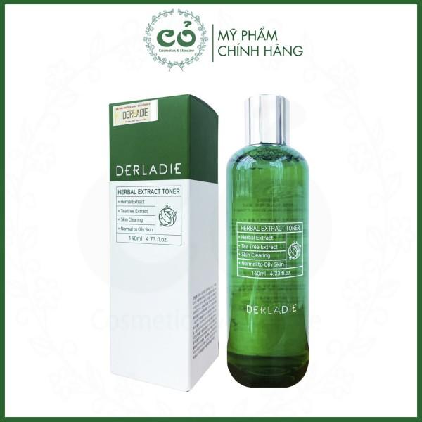 Nước Hoa Hồng Tràm Trà Cho Da Mụn Nhạy Cảm Derladie Herbal Extract Toner