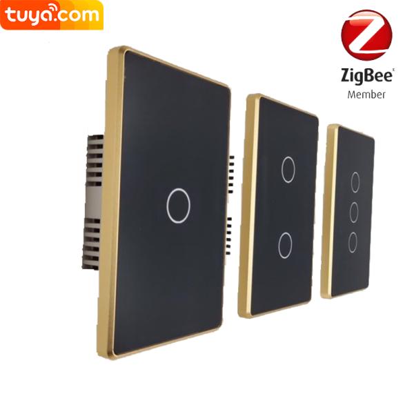 Công Tắc Tuya Zigbee 3.0 VIỀN VÀNG chuẩn US