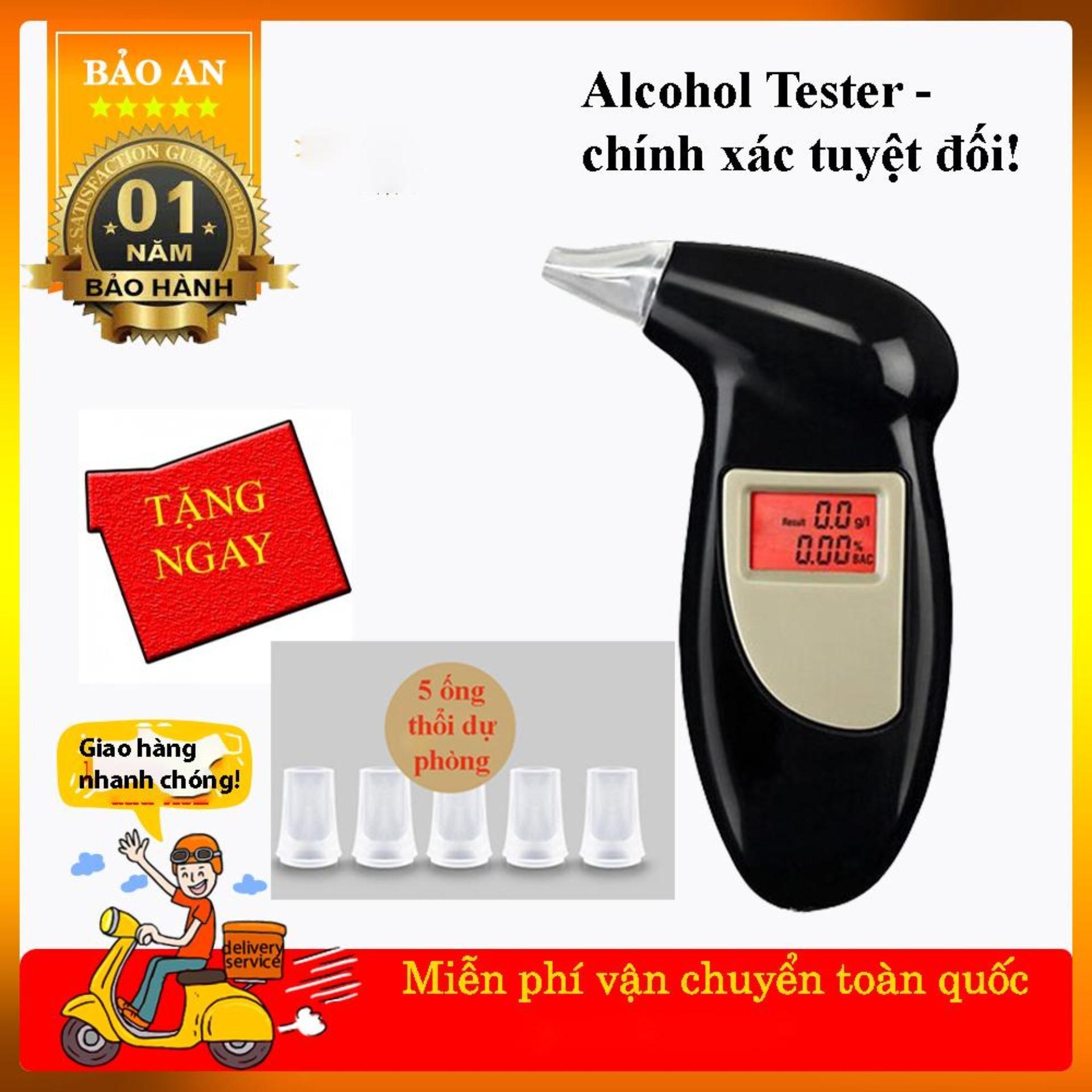 {HOT} Máy Đo Máy Thổi Nồng Độ Cồn Chính Xác Tuyệt Đối Alcohol Tester