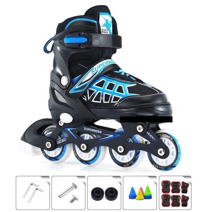 Mua Combo Giày Patin Trẻ Em 8 bánh phát sáng về 2 màu