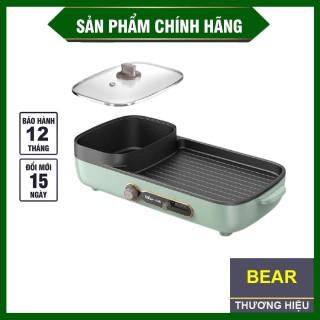 Nồi lẩu nướng đa năng 2 in 1 cao cấp bếp nướng gia đình không khói, không dính Bếp lẩu nướng điện kết hợp tiện dụng,BẢO HÀNH 1 ĐỔI 1 thumbnail