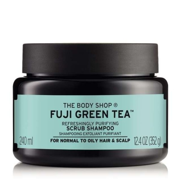 Tẩy tế bào chết da đầu The Body Shop Fuji Green Tea Cleansing Hair Scrub 240ml