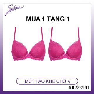 [MUA 1 TẶNG 1] Áo lót tạo khe ngực chữ V màu hồng đậm by Sabina SBI992PD thumbnail