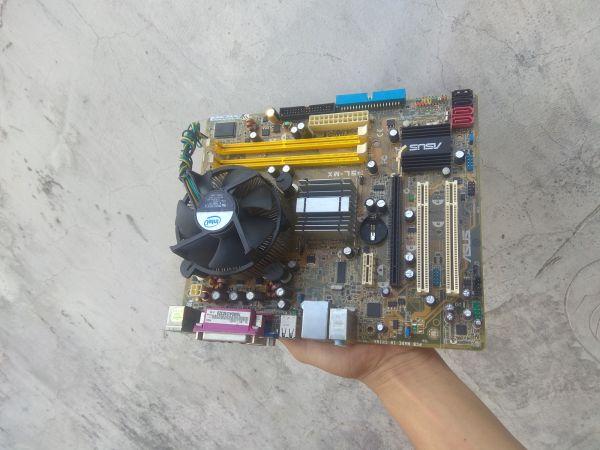 Giá Combo Main 945 + CPU Dual Core Tặng Fan  Hỗ Trợ Ram DDR2