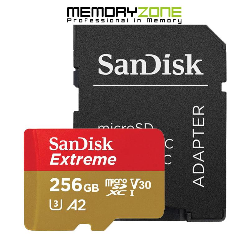 Thẻ Nhớ MicroSDXC SanDisk Extreme V30 A2 256GB 160MB/s SDSQXA1-256G-GN6MN