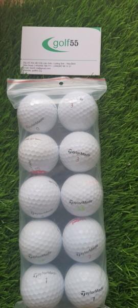 10 quả bóng golf taylormade độ mới 90% đến 99%