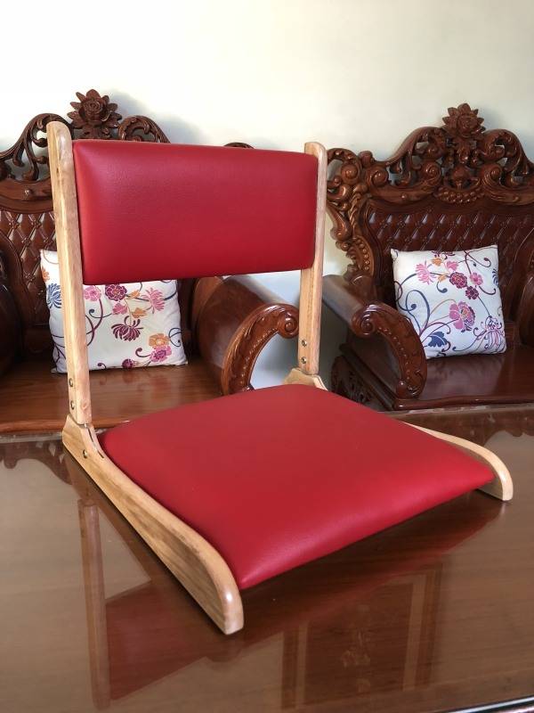 Ghế lười/ Ghế bệt có tựa lưng ngồi sát đất Pisu giá rẻ