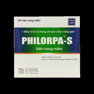 [ Chính Hãng] Hộp 100 viên Philorpa S - Điều Tri Hỗ Trợ Rối Loạn Chức Năng Gan thumbnail